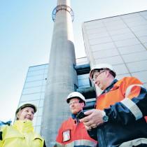 Skorstenen på Oriketos avfallsförbränning ska snart rivas
