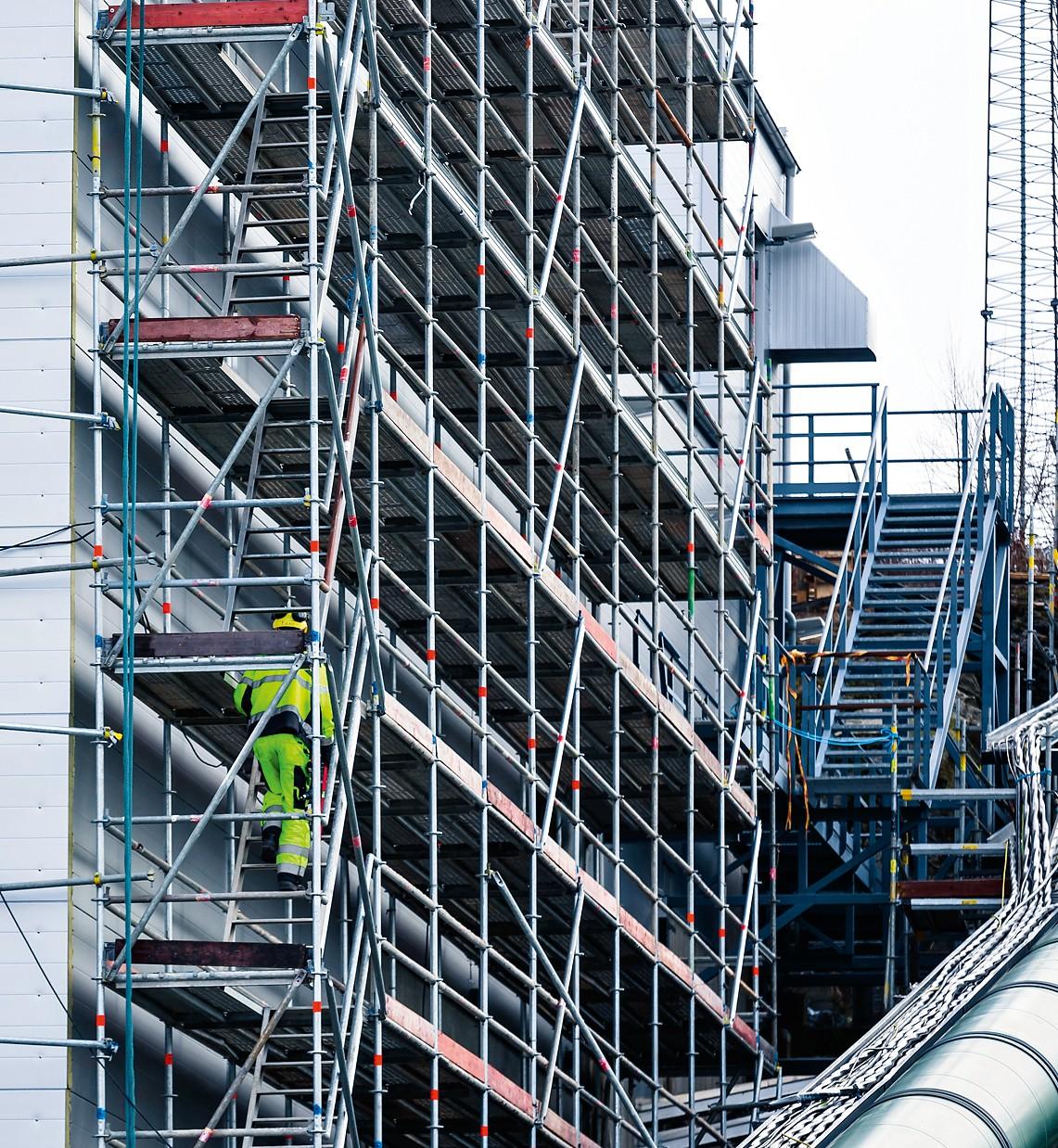 Ställningsbyggare på Neste Oil - Delete