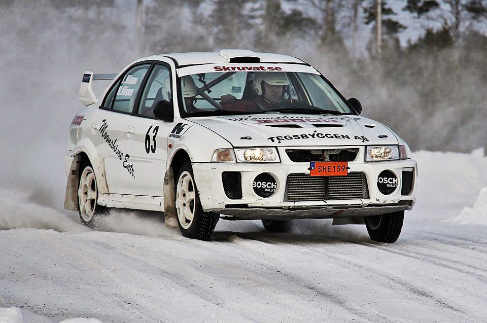 Marcus Nilsson Delete kör rally