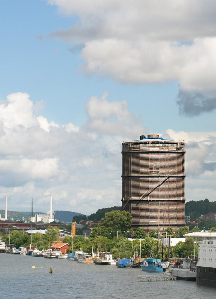 Gasklockan i Göteborg ett av Deletes rivningsprojekt