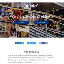 Connecta med Delete