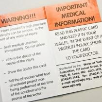 Information om behandling vid skada högtrycksspolning