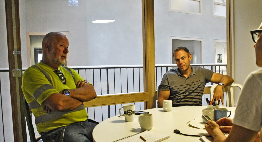 Lars-Olof Dahl Delete och Martin Klimt Skanska