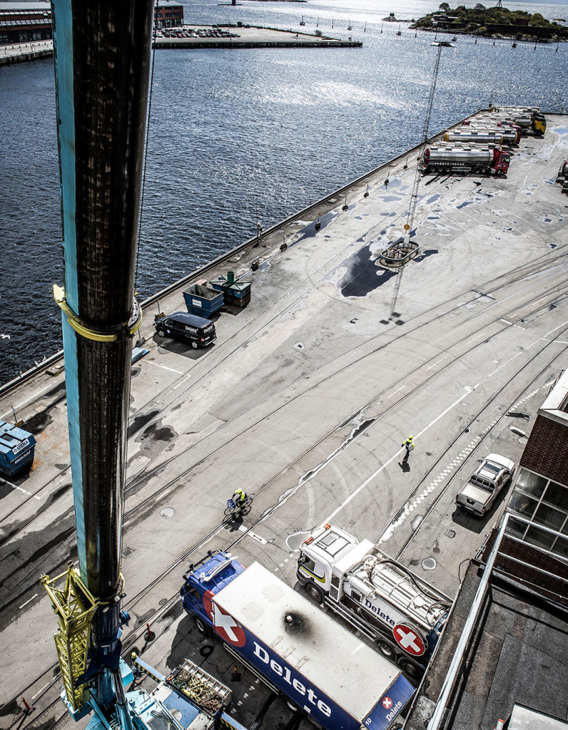 Utsikt från spalttorn AAK