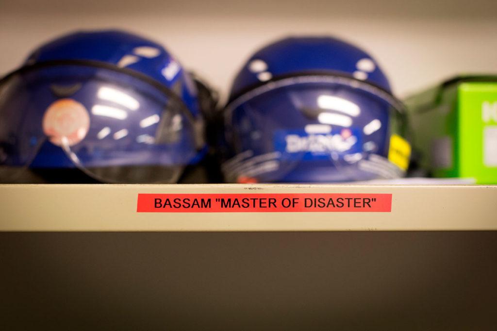 Bassams hylla på jobbet - Delete