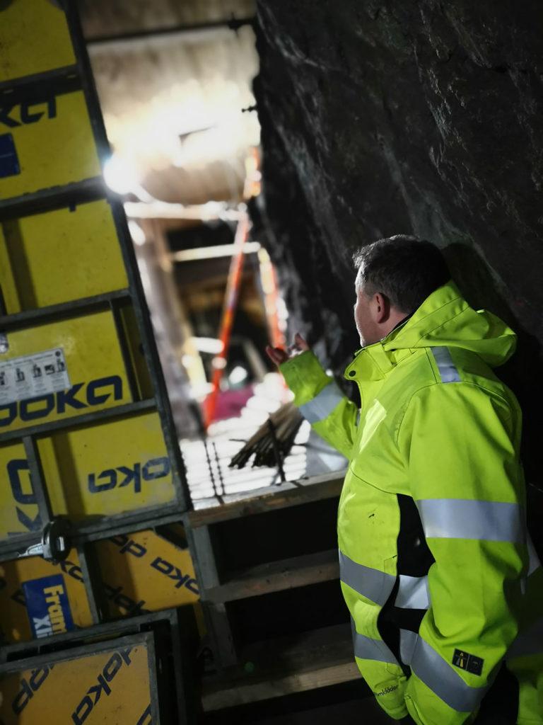 Tunnelbanan Slussen betongreparationer W-tech Delete